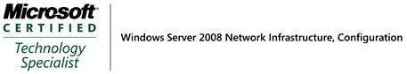 Windows Server 2008 Network Infrastructure, Configuration